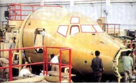 In der VR China endgefertigte MD-80/Courtesy: SAIC?