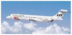 MD-87/Courtesy: SAS