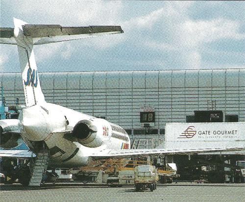 Praktische Hecktreppe einer MD-87/Courtesy: SAS