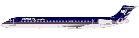 Zwei MD-88 gehörten zur Original-Flotte von Midwest EXpress/Courtesy: md80design