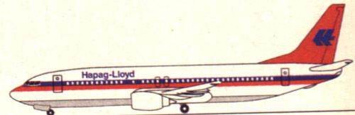 Hapag-Lloyd waren ein profilierter Betreiber der Boeing 737-400/Courtesy: Hapag-Lloyd