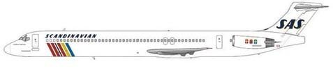 Scandinavian Airlines MD-81/Courtesy: md80design