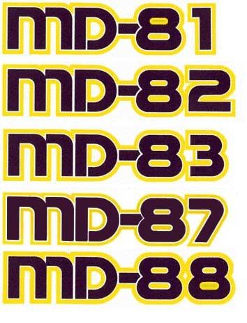 Zweite und sehr charakteristische Version/Courtesy: McDonnell Douglas