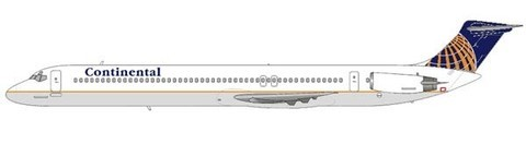 Continental Airlines MD-82/Courtesy: md80design