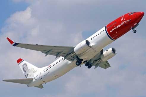 Die Boeing 737-800 ist das Hauptmodell der Norwegian/Courtesy: Norwegian