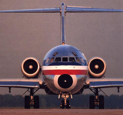Gesicht einer der vielen Super 80/Courtesy: American Airlines
