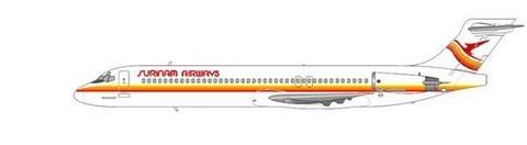 Die MD-87 wurde durch eine DC-9-51 ersetzt/Courtesy: md80design