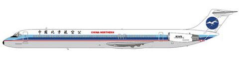 MD-82 mit altem Heckkonus/Courtesy: md80design