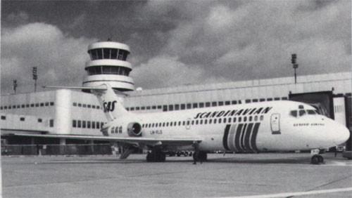 SAS Douglas DC-9-21/Courtesy: SAS