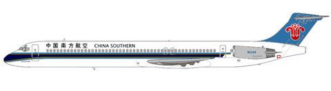 China Southern integrierten die MD-82-Flotte von China Northern/Courtesy: md80design
