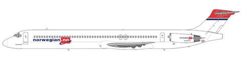 Norwegian MD-83/Courtesy: md80design