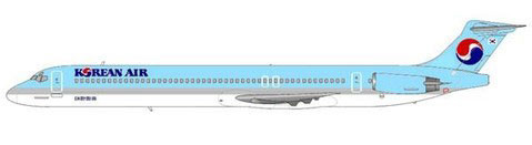 Korean Air MD-83/Courtesy: md80design