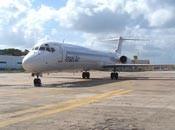 Damals eines der ersten Fotos einer MD-83 der Insel Air...