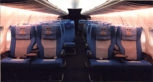 Bewusst gewählte Farben erzeugen ein sehr positives Raumerlebnis/Courtesy: McDonnell Douglas