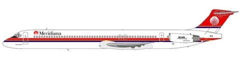MD-82 der Meridiana/Courtesy: md80design