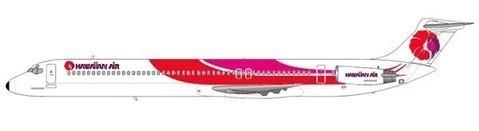 Hawaiian Air MD-81/Courtesy: md80design