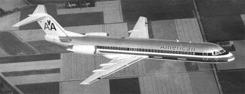 Fokker 100 von American Airlines/Courtesy: Fokker