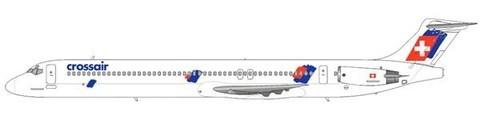 Crossair MD-83/Courtesy: md80design