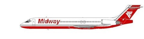 Midway Airlines MD-87/Courtesy: md80design