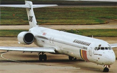 SAS MD-90/Courtesy: SAS