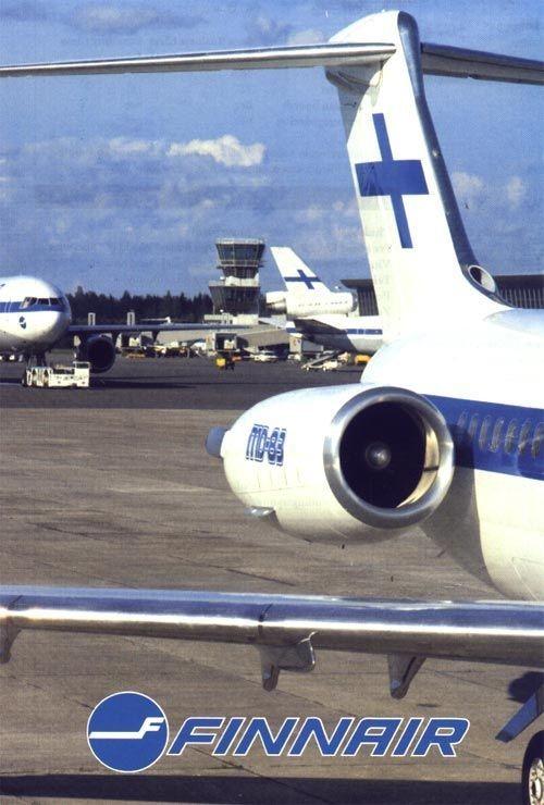 McDonnell Douglas MD-83 der Finnair/Courtesy: Finnair