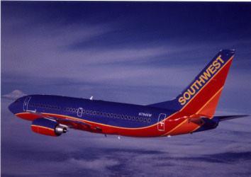 Boeing 737-700 im Farbkleid der Southwest/Courtesy: Southwest Airlines