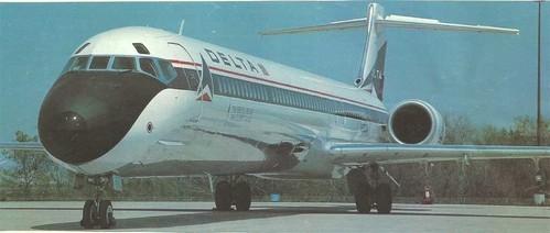 Delta Air Lines setzten als erstes Unternehmen die MD-90 ein/Courtesy: McDonnell Douglas
