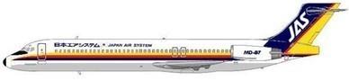 Acht MD-87 gehörten zur Flotte von Japan Air System/Courtesy: MD-80.com
