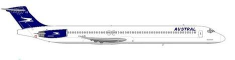 """Die rechte Rumpfseite weist den Schriftzug """"Austral"""" auf, die linke Seite ist """"Aerolineas Argentinas"""" vorbehalten. Courtesy: md80design"""