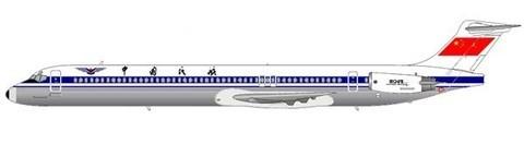 CAAC MD-82/Courtesy: md80design