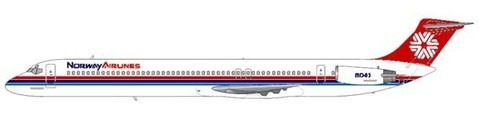 Norway Airlines MD-83/Courtesy: md80design