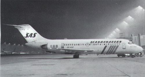 Douglas DC-9-21 der SAS/Courtesy: SAS