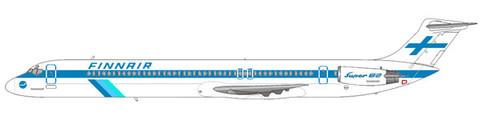 DC-9 Super 82 im klassischen Farbkleid der Finnair/Courtesy: md80design