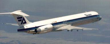 Aviaco MD-88/Courtesy: McDonnell Douglas