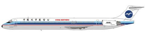 MD-82 im Farbkleid der China Northern Airlines/Courtesy: md80design