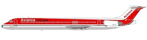 Klassisch kolumbianische MD-83/Courtesy and Copyright: md80design