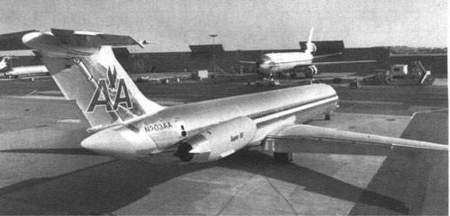 American Airlines Super 80/Courtesy: McDonnell Douglas