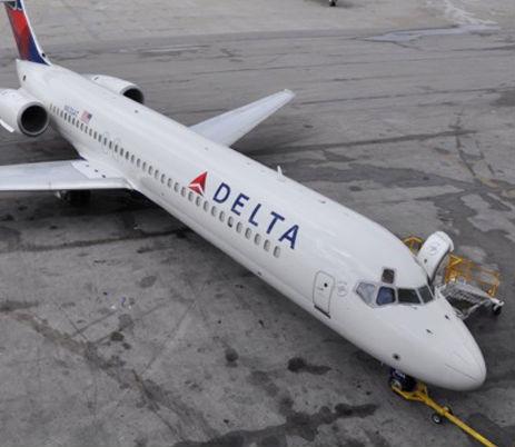Die erste Boeing 717 im Delta-Farbkleid/Courtesy: Delta Air Lines