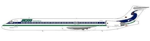 Einige MD-83 kamen auch bei SAM zum Einsatz/Courtesy: md80design