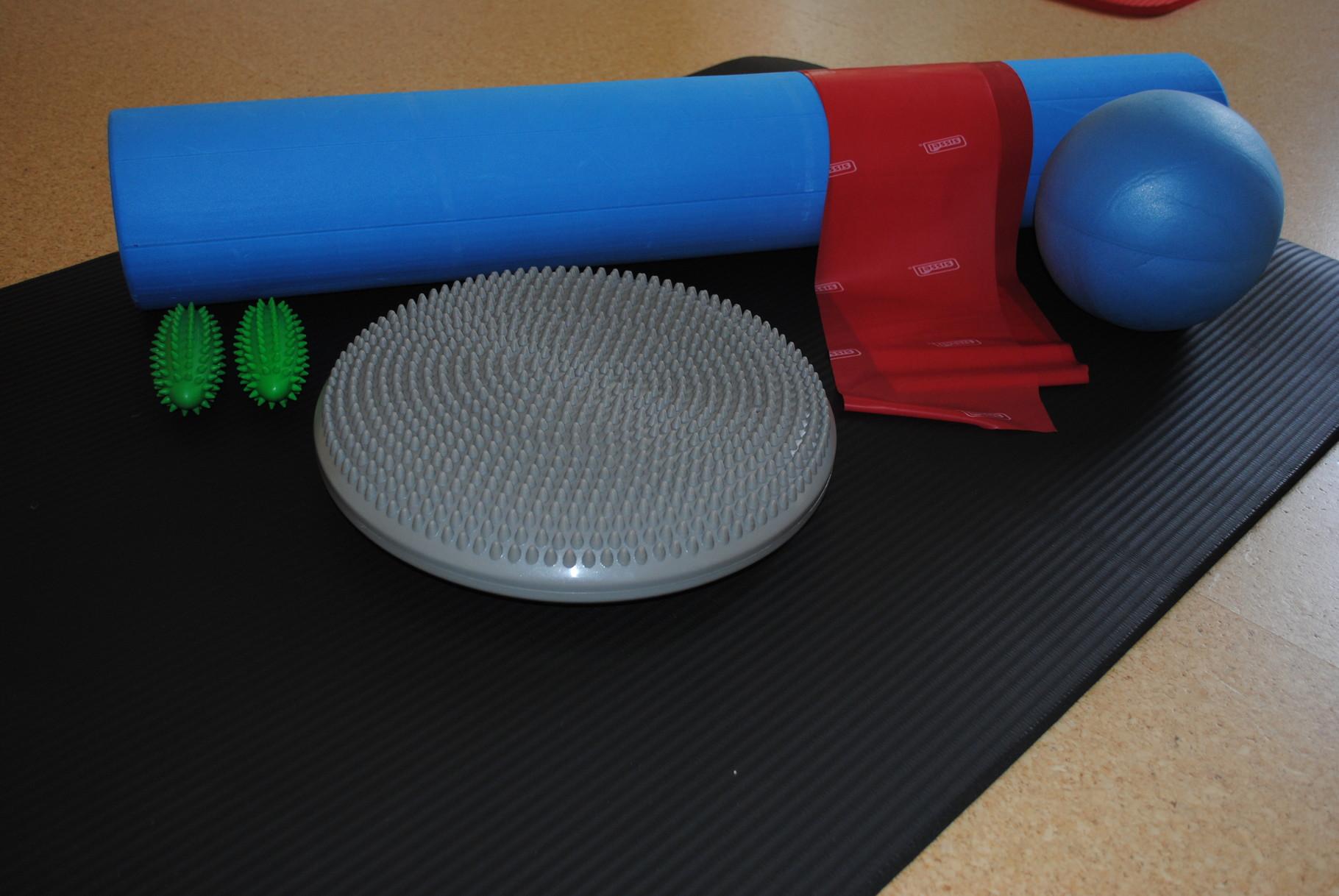 Pilates Kleingeräte