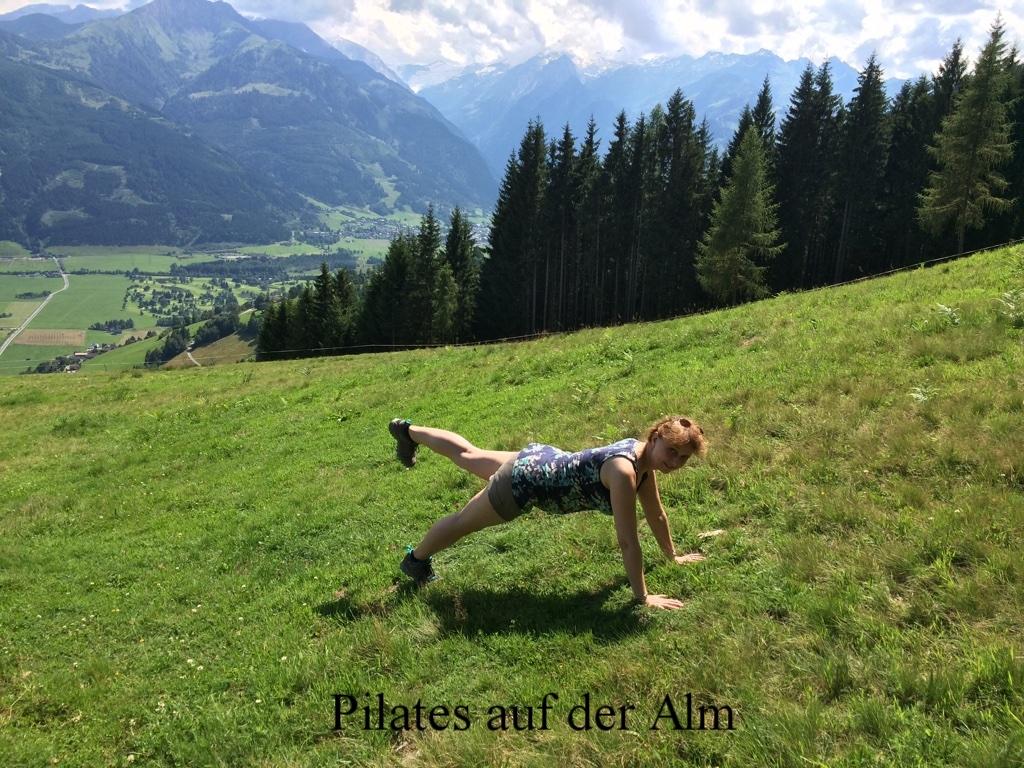 Planking auf der Alm in Meran 2016