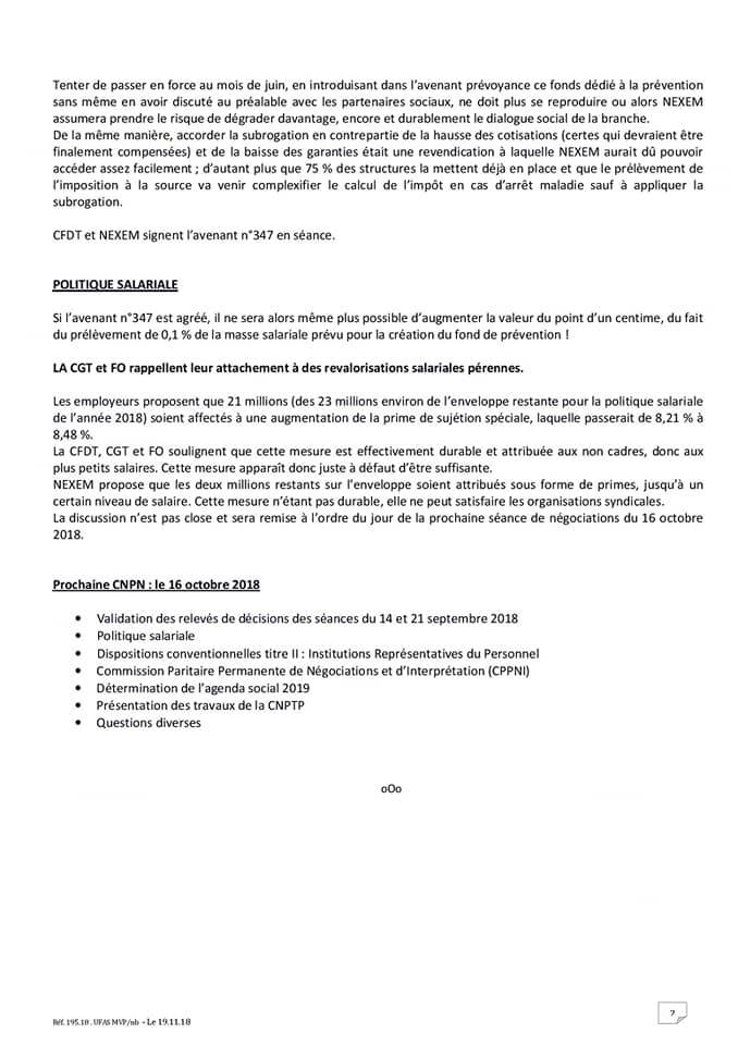 Commission Nationale Paritaire Cgt Adapei 80