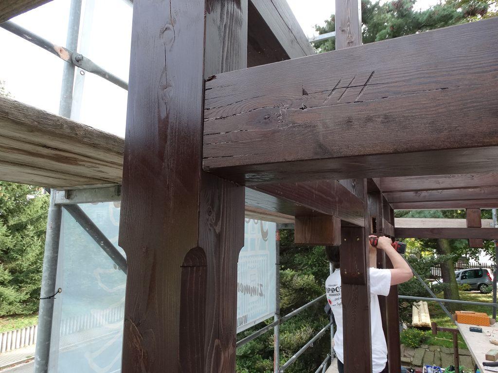 Rekonstruktion Balkon