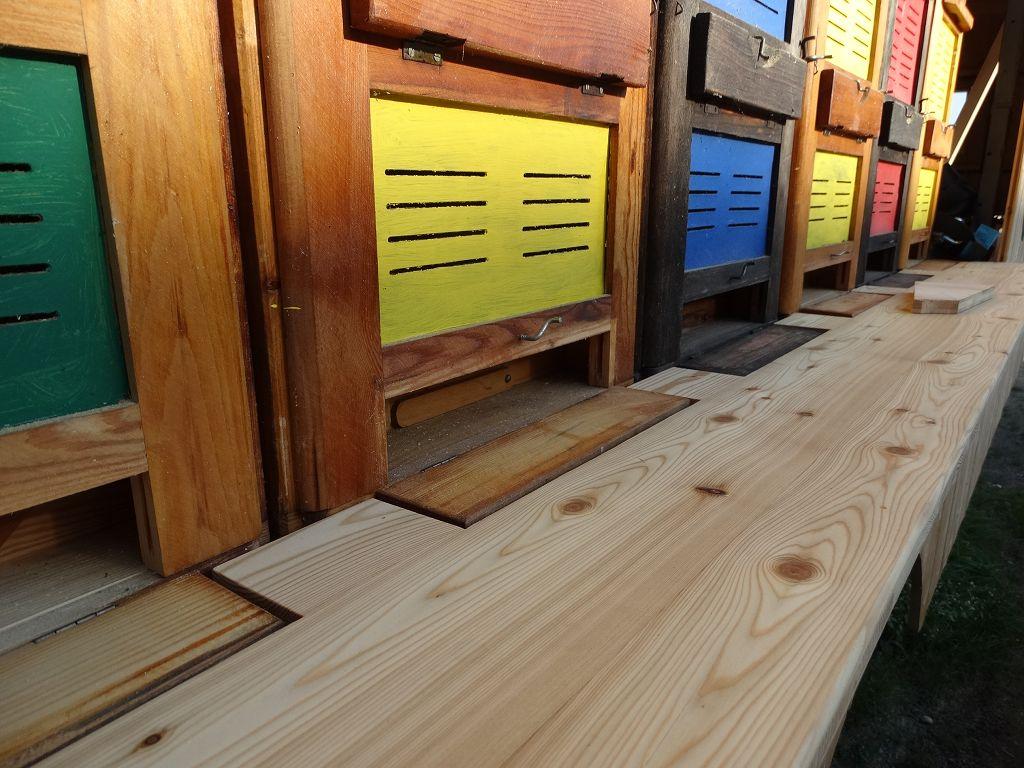 Sanierung eines Bienenwagens