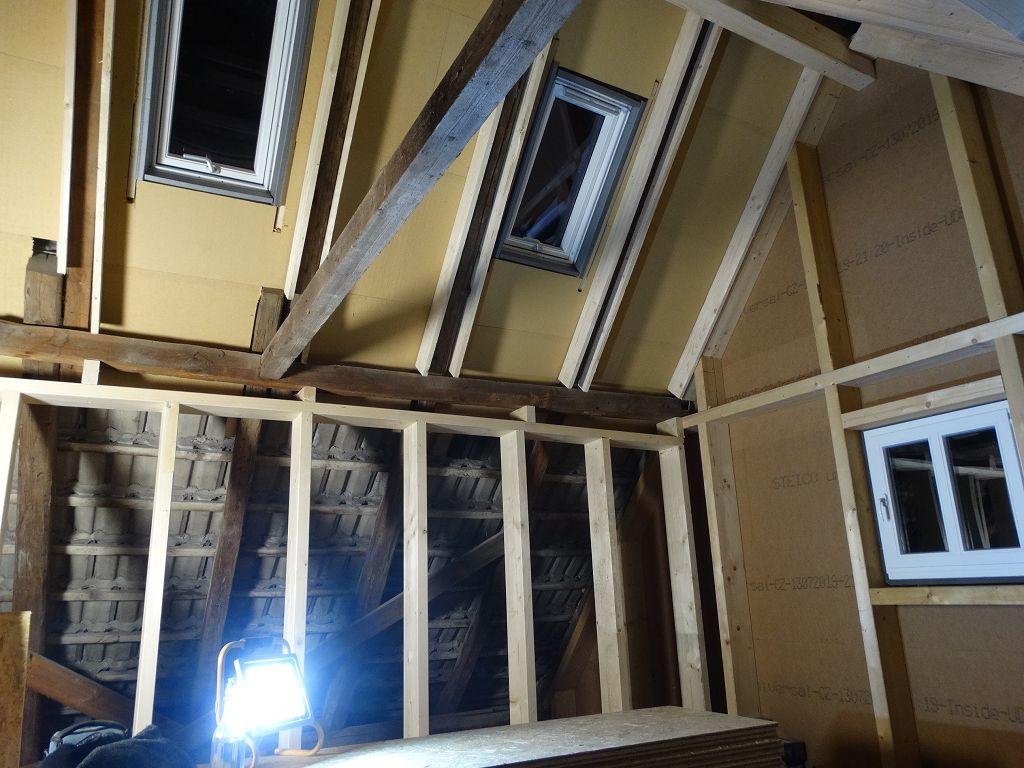 Ökologischer Dachgeschossausbau