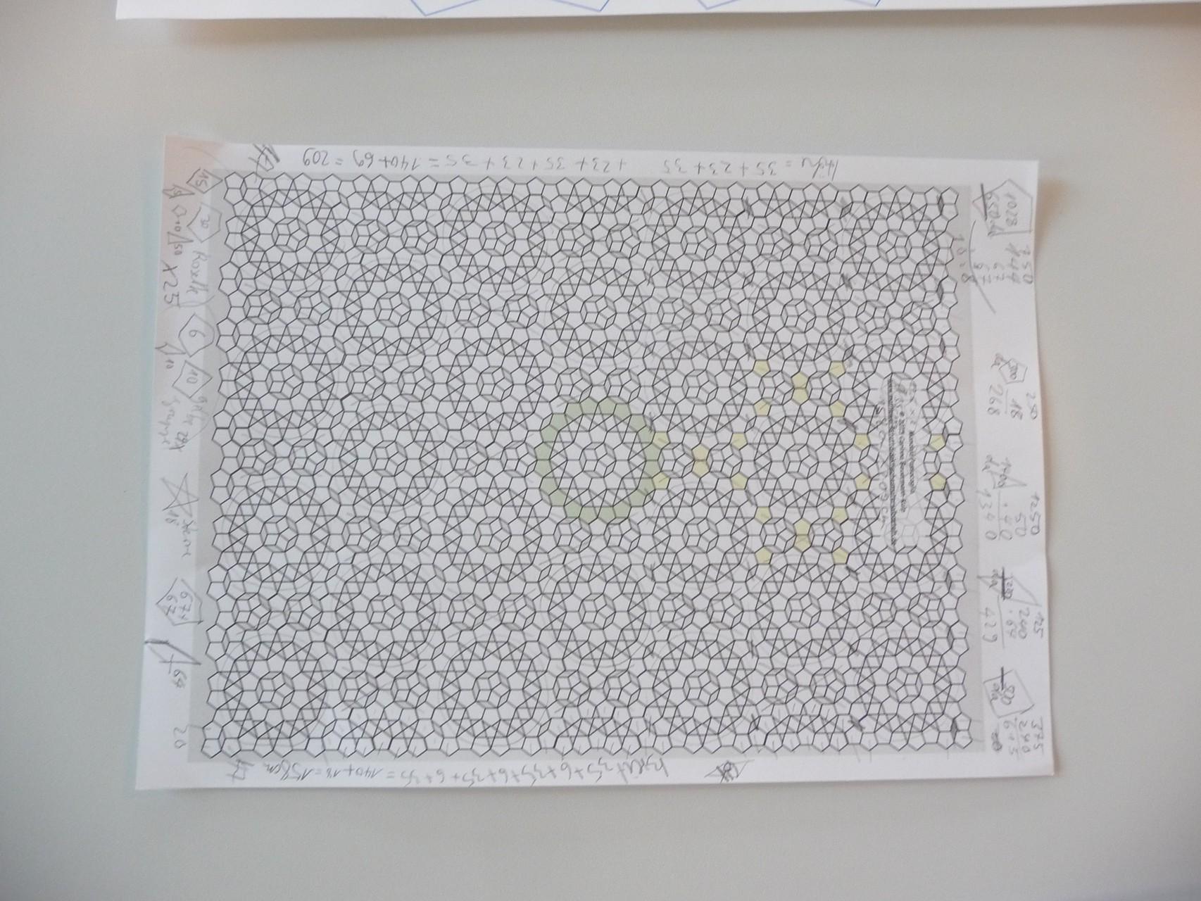 Für die originalgroßen Schablonenteile, Endgröße Quilt ca. 160 cm x 210 cm....