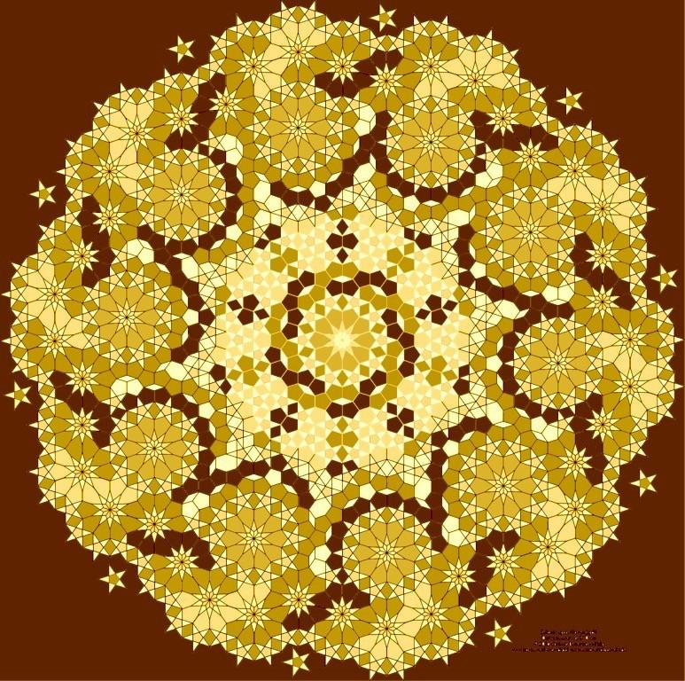 Islamic Star mit Bildbearbeitung