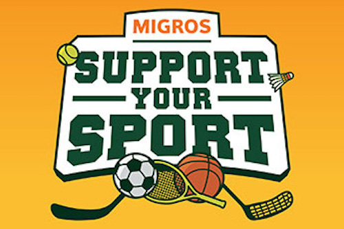 "Migros-Aktion ""Support Your Sport"""