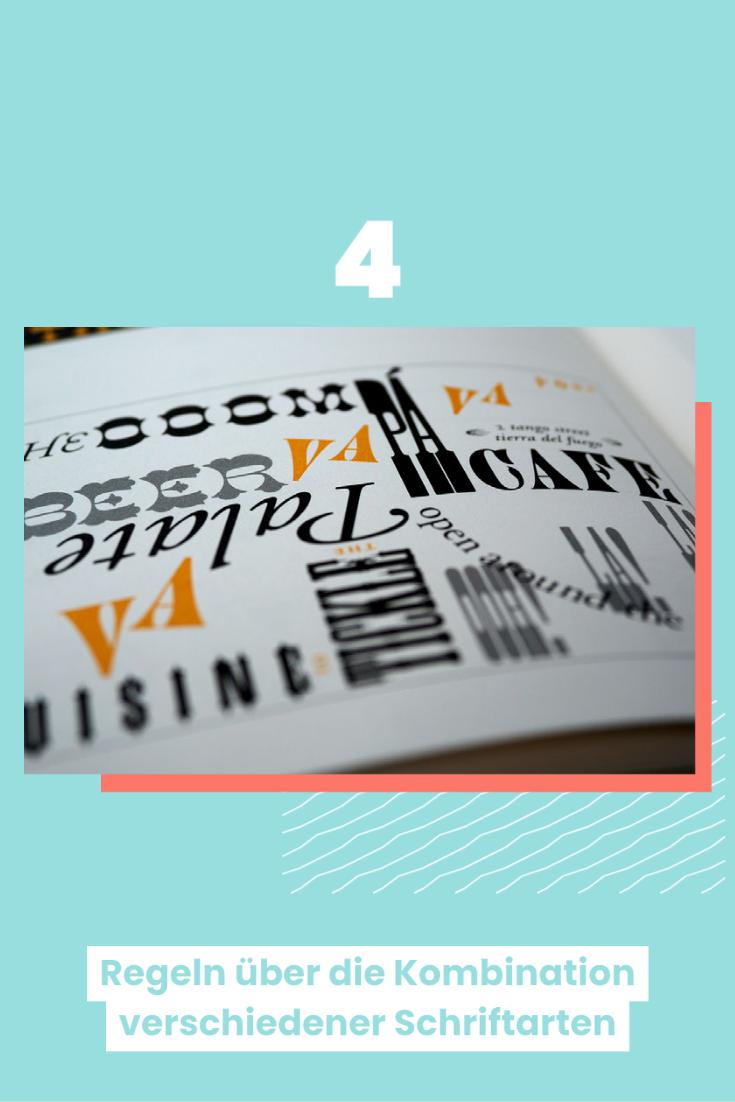 Typografie - Diese Schriftkombinationen sind möglich