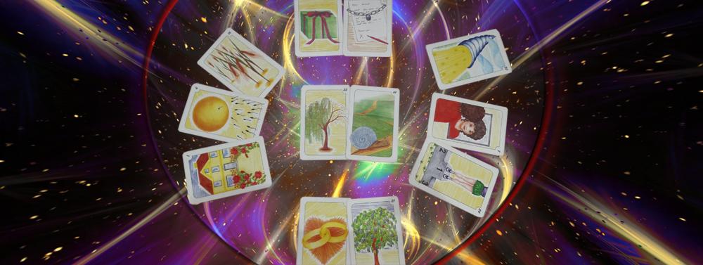 Kartenlegen, Aura-Analysen